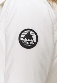 Burton - LELAH - Snowboard jacket - stout white - 7
