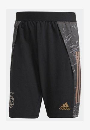 AJAX AMSTERDAM EU SHORTS - Sports shorts - black