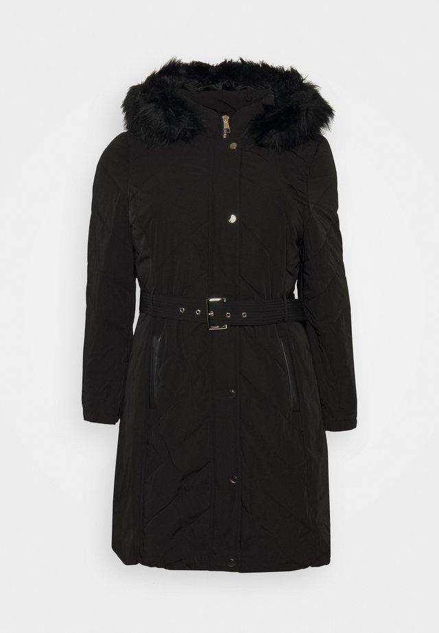 KAYA LONGLINE  - Cappotto invernale - black