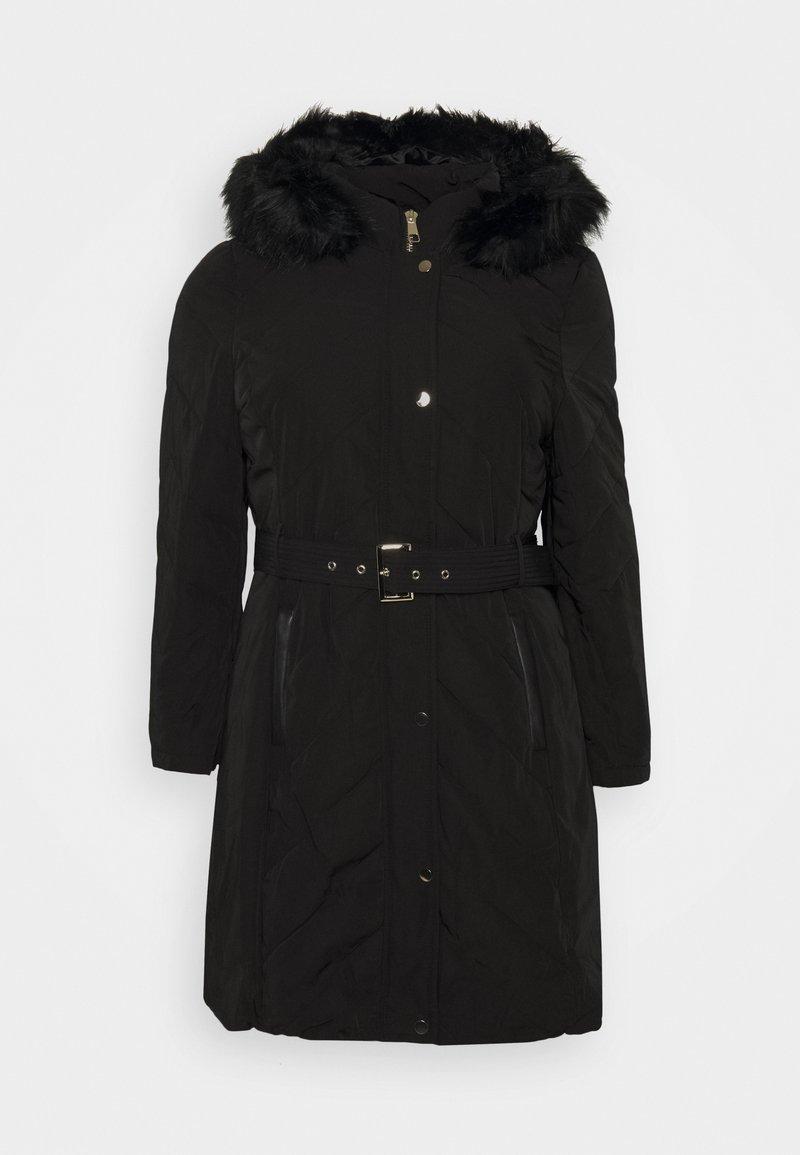 Forever New Curve - KAYA LONGLINE  - Winter coat - black