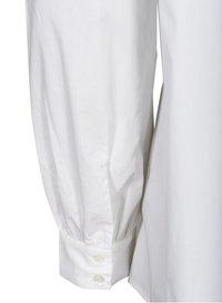 Zizzi - Button-down blouse - white - 6