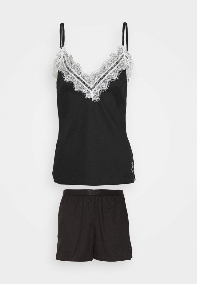 SHORT - Piżama - black