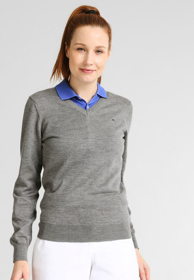 AMAYA - Jumper - grey melange