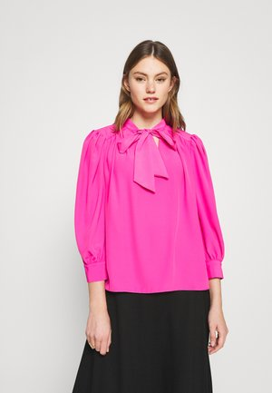 Long sleeved top - bright pink