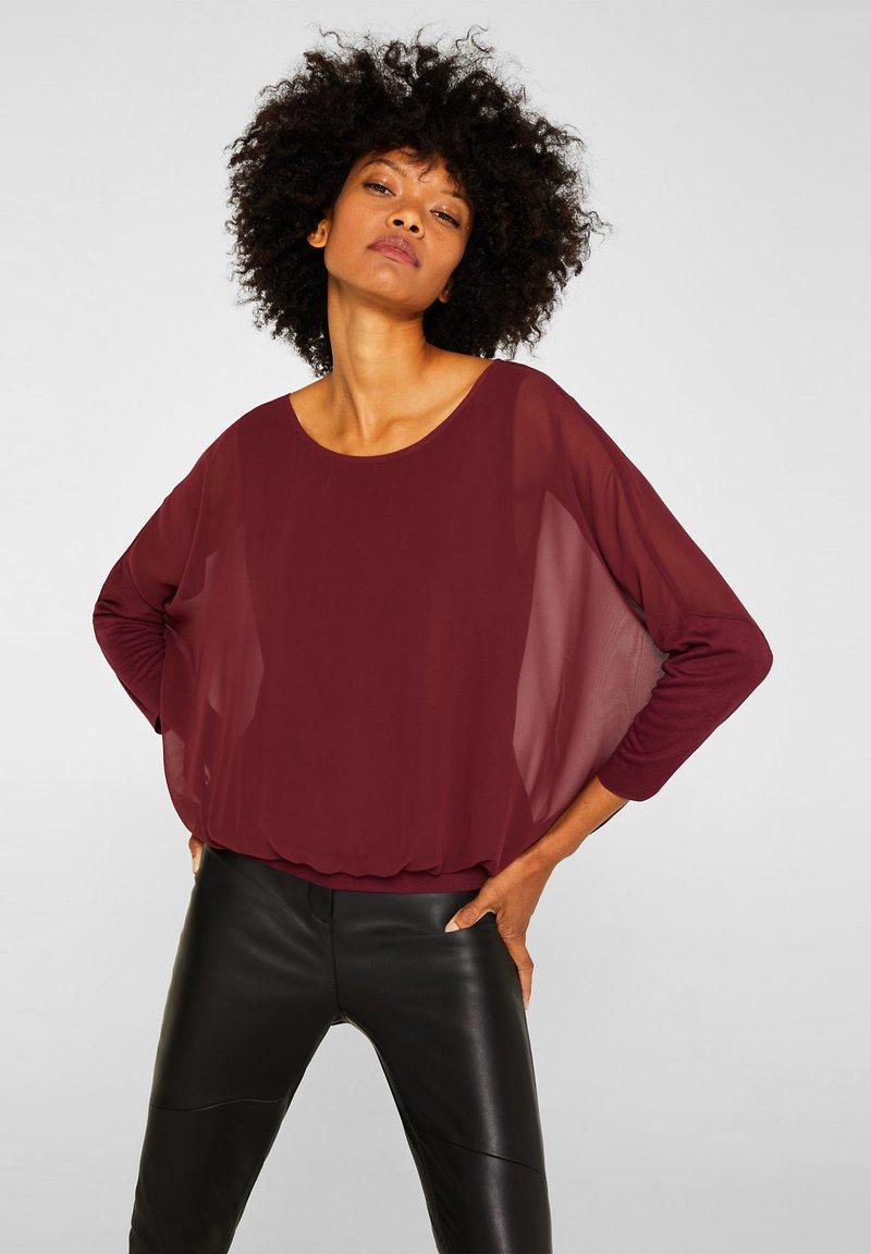 Esprit - Blouse - garnet red
