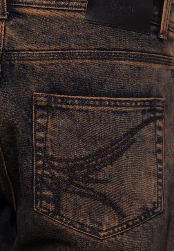 King Kerosin Jeansy Straight Leg - rostbraun/brązowy Odzież Męska KAWU
