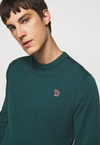 PS Paul Smith - MENS CREW NECK ZEBRA - Jumper - dark green - 3