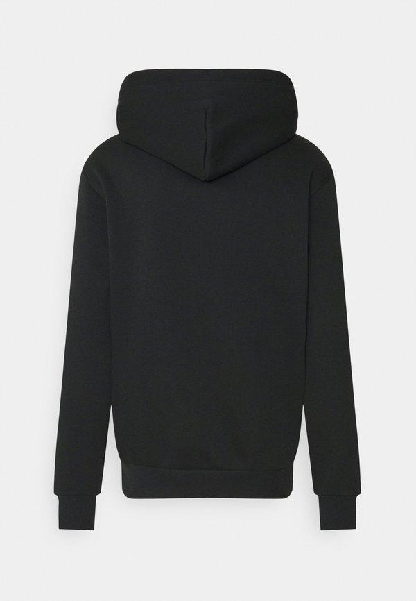 Converse EXPLORATION TEAM HOODIE - Bluza z kapturem - black/czarny Odzież Męska OEZV