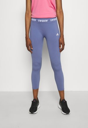 AEROKNIT 7/8 PS TRAINING WORKOUT DESIGNED4TRAINING PRIMEGREEN LEGGINGS FITTED - Tights - orbit violet