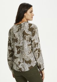 Kaffe - PAISLEY BLOUSE - Blouse - grape leaf paisley print - 2