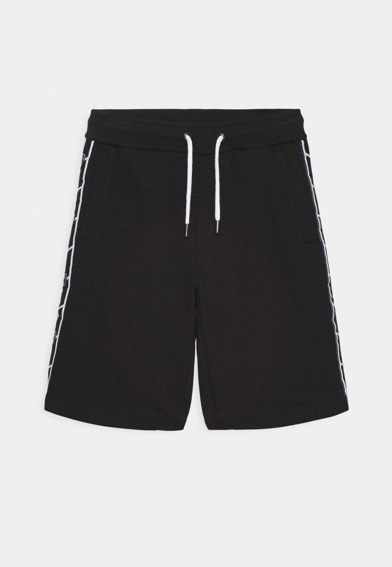 Automobili Lamborghini Kidswear - SHIELD TAPE - Shorts - black pegaso