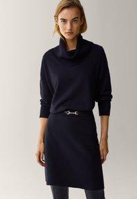 Massimo Dutti - Mini skirt - black - 3