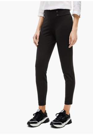 SLIM FIT - Leggings - Trousers - true black