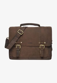 Leabags - OMAHA - Aktetas - light brown - 0