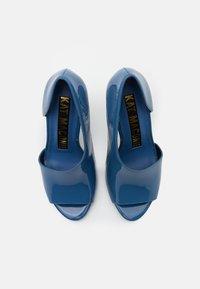 Kat Maconie - Peeptoe heels - slate - 5