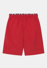 Fila - RENE SWIM - Swimming shorts - true red - 1