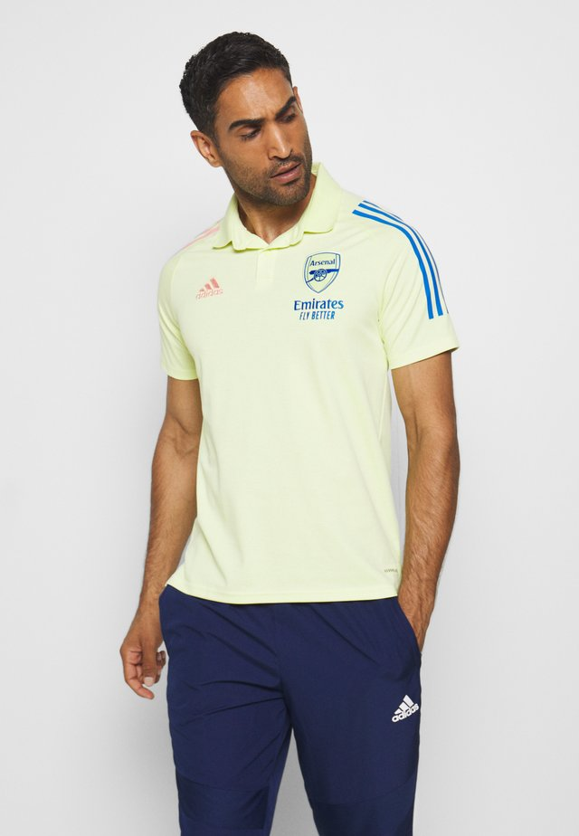 ARSENAL FC SPORTS FOOTBALL SHORT SLEEVE  - Article de supporter - yellow tint