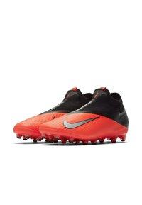 Nike Performance - PHANTOM VISION 2 PRO DF AG-PRO - Moulded stud football boots - laser crimson/black/metallic silver - 2