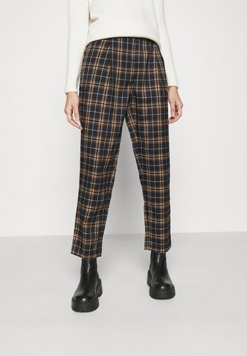 CHECKERED SUIT PANTS