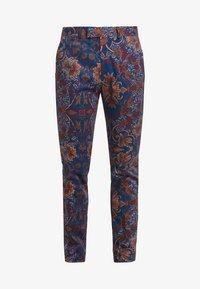 Topman - PRINTED TROUSER - Oblekové kalhoty - multi - 5