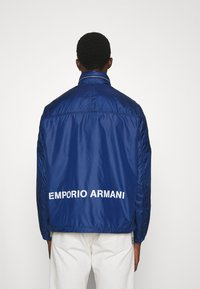 Emporio Armani - BLOUSON JACKET - Summer jacket - blu navy - 2