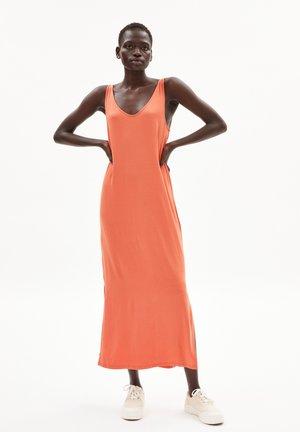 MADALENAA - Jersey dress - burned mandarin
