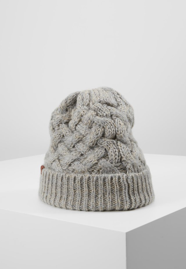 BEANIE - Beanie - light grey/sand