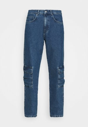 MARCUS BUTLER FOR CARPENTER - Relaxed fit jeans - blue/grey