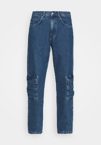 MARCUS BUTLER FOR CARPENTER - Jeans relaxed fit - blue/grey