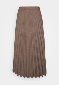 Marc O'Polo - SKIRT PLISSEE STYLE BUTTON CLOSURE SOLID - A-linjainen hame - multi - 0