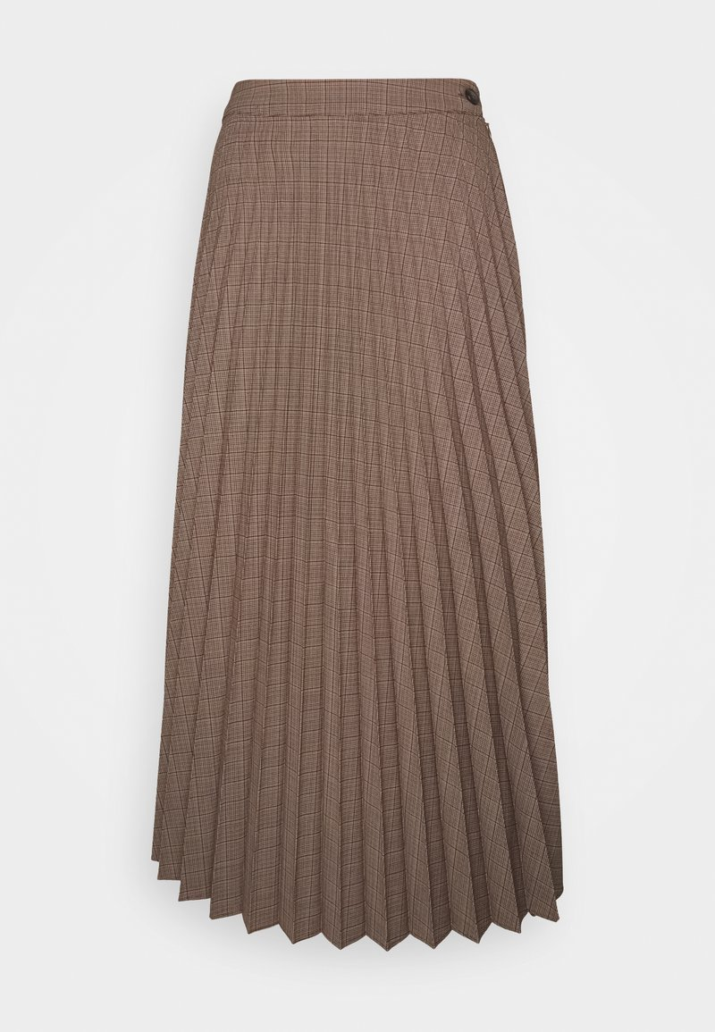 Marc O'Polo - SKIRT PLISSEE STYLE BUTTON CLOSURE SOLID - A-linjainen hame - multi