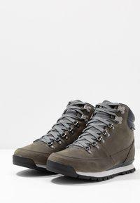 The North Face - BACK TO BERKELEY REDUX - Snowboots  - zinc grey/ebony grey - 2