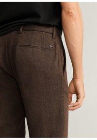 Mango - Trousers - brun - 4