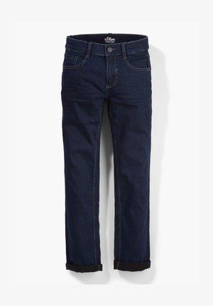 SLIM FIT - Straight leg jeans - dark blue
