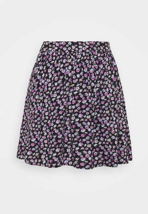 PCNYA SKIRT  - Mini skirt - black