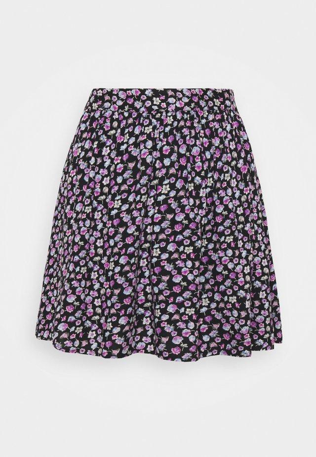 PCNYA SKIRT  - Mini skirt - black