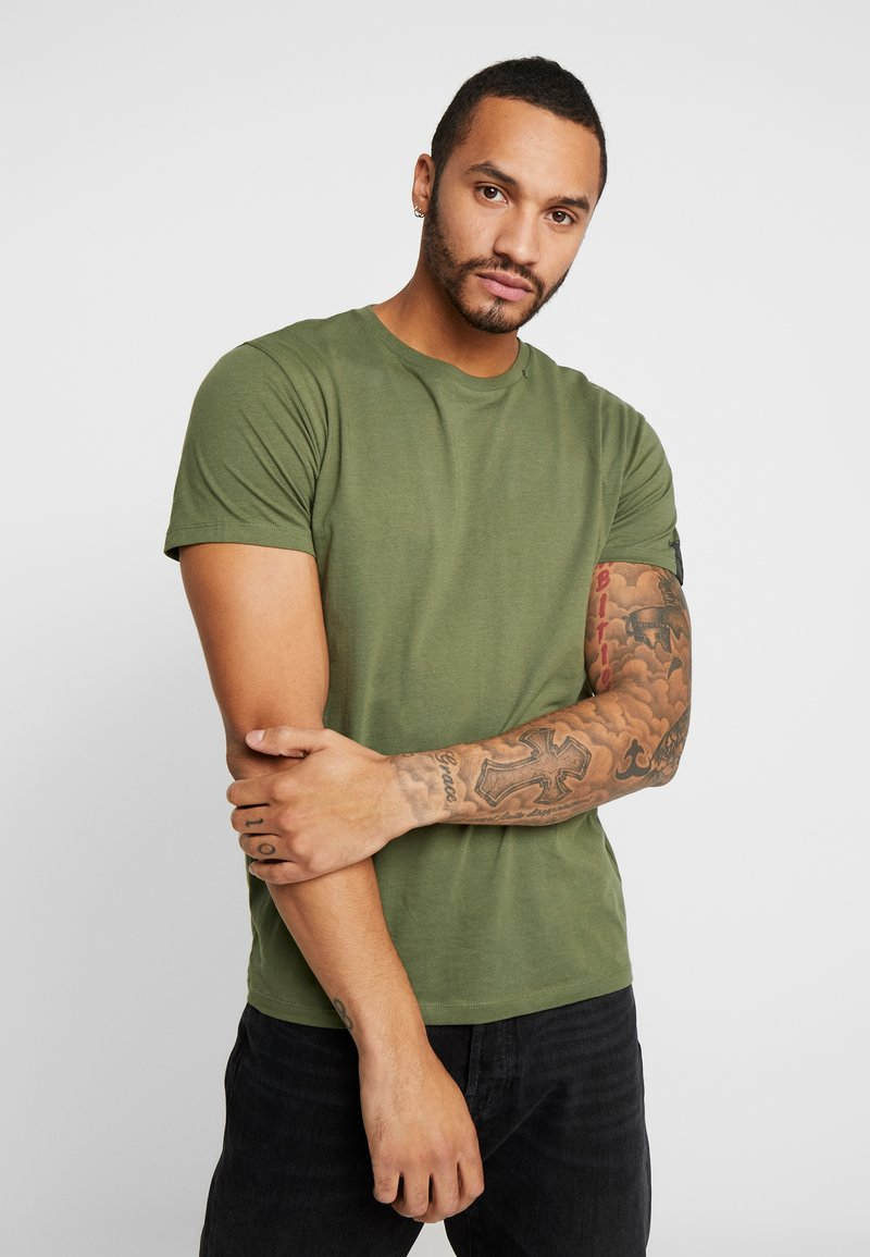Replay - T-shirt basic - olive