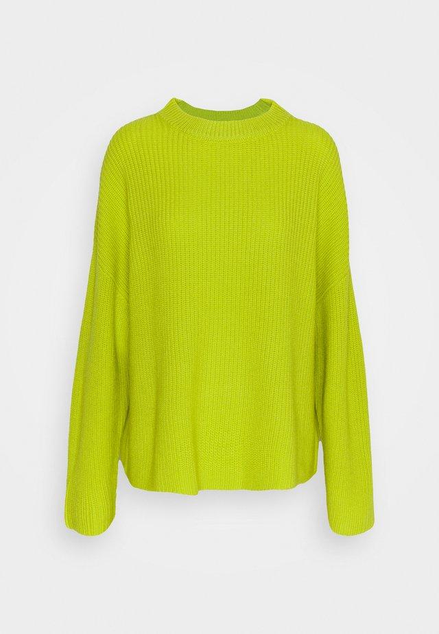 SUSI - Pullover - acid yellow