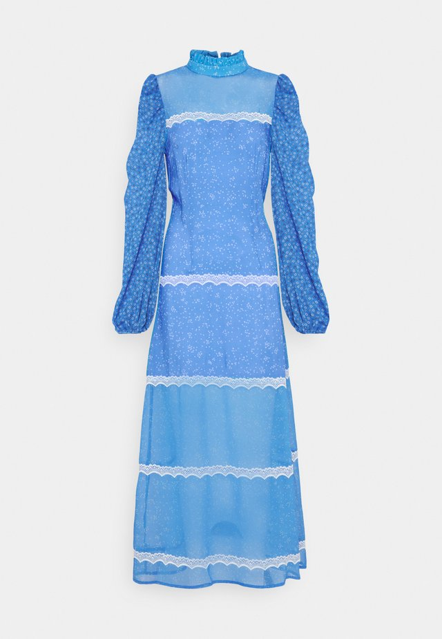 AYRA MIDAXI DRESS - Maxi-jurk - blue