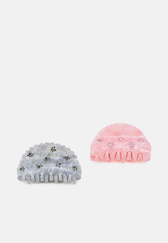 PCOLLINA HAIRSHARK KEY 2 PACK - Accessoires cheveux - light pink/blue