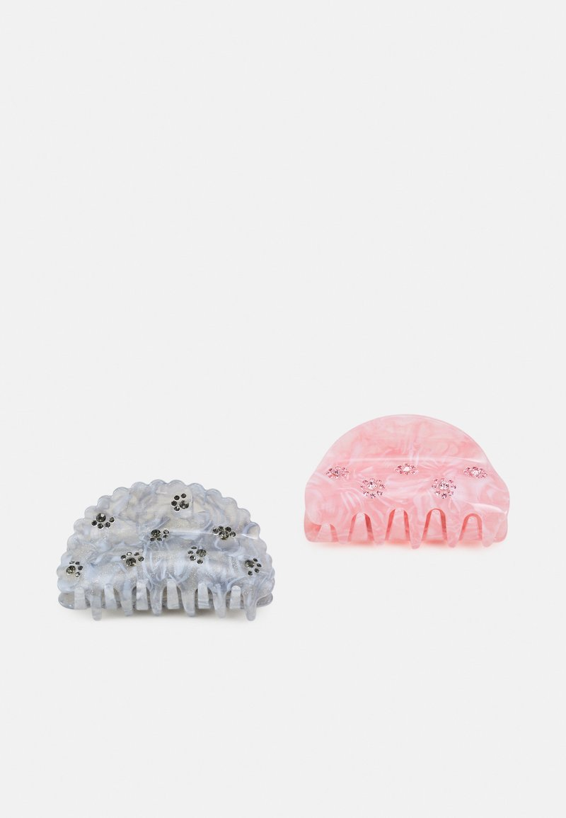 Pieces - PCOLLINA HAIRSHARK KEY 2 PACK - Hair styling accessory - light pink/blue