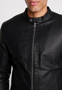 Tiffosi - EAGLE - Faux leather jacket - black - 5