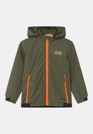 DUSTIN - Training jacket - mid army