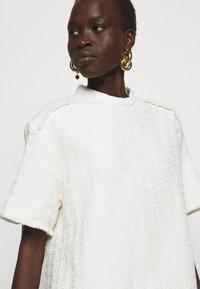 Proenza Schouler White Label - TEXTURED DRESS - Kjole - white - 3
