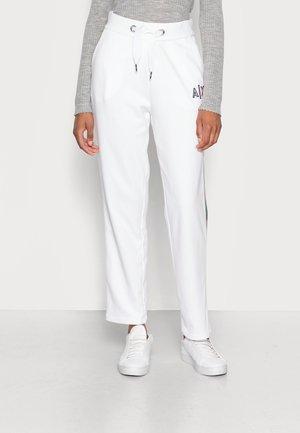 PANTALONI FRENCH TERRY - Teplákové kalhoty - white