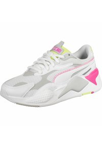 Puma - Sneakers laag - white/gray/green - 0