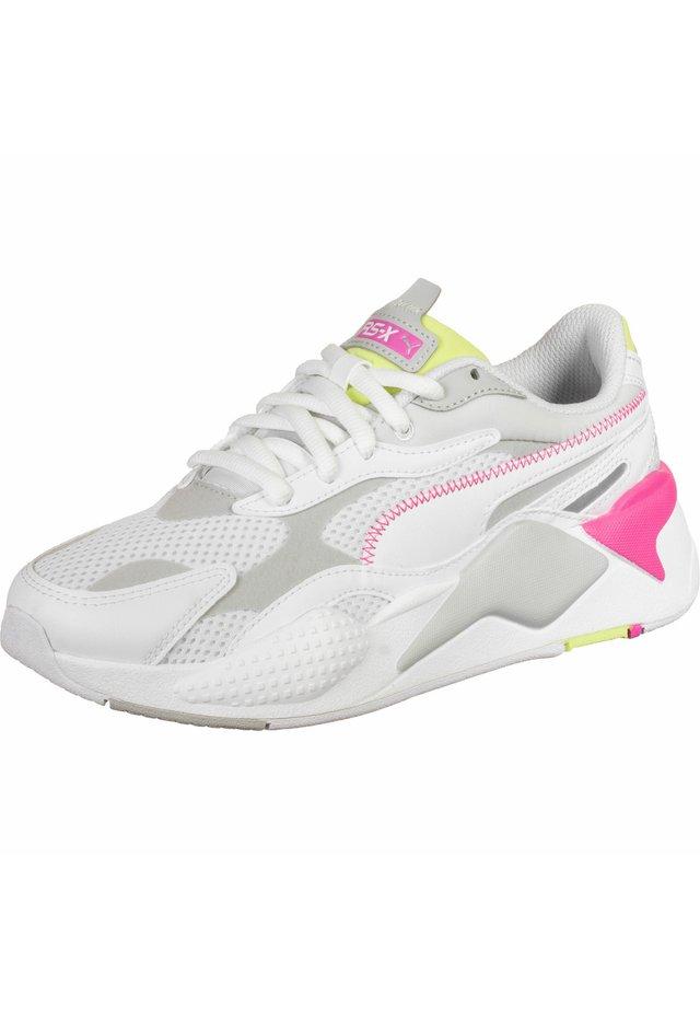 Sneakers - white/gray/green