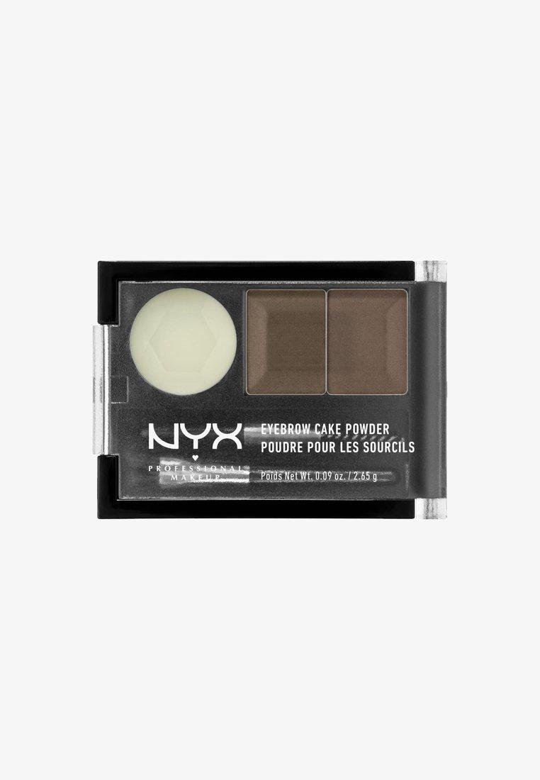 Nyx Professional Makeup - EYEBROW CAKE POWDER - Eyebrow powder - 3 taupe