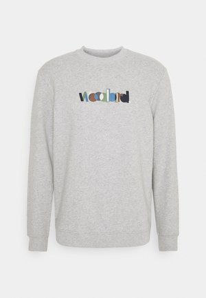 MUFTI CREW - Sweatshirt - grey mel