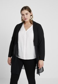 Evans - COVER UP - Summer jacket - black - 0